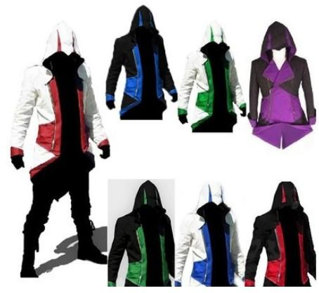 Assassins Creed III Conner Jacket comprend 9 couleurs