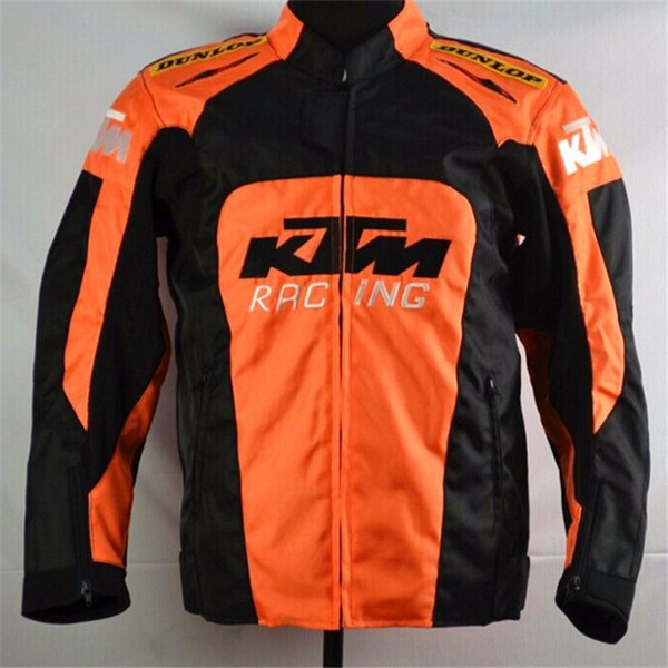 top popular 2017 High quality Factory direct sales Protection Jackets Ktm Motocross Cycling Jerseys Cycling Clothing MotoGP Men jacket For KTM Racing 2019