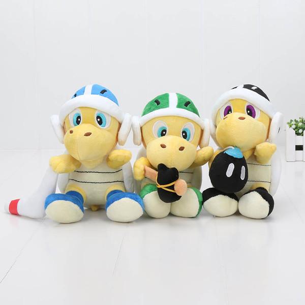 7 '' 18 cm Super Mario Bros Koopa Troopa Landmine Crâne En Peluche Jouet Animal En Peluche Jouets Poupée Pour Enfants