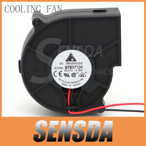 Free Shipping Original For Delta BFB0712H 7530 DC 12V 0.36A projector blower centrifugal fan cooling fan