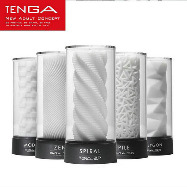 TENGA 3D Male Masturbator Adult Male Sex Tools Japan's Original Masturbation Cup Sex Toys for Men Artificial Vagina Sex Products q170688