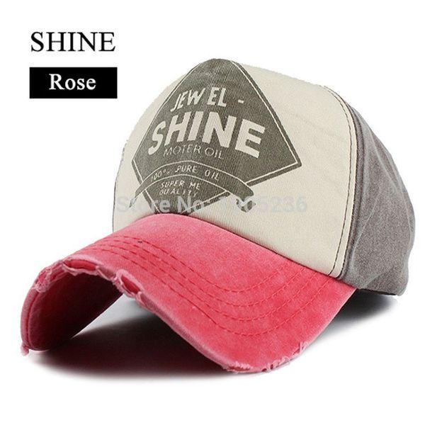 Wholesale- Unisex Cotton Denim Baseball Cap Sport Hats Women or Men Bone Snapback Hat Boys Girls Hip-hop Caps Casquette hat Multicolor
