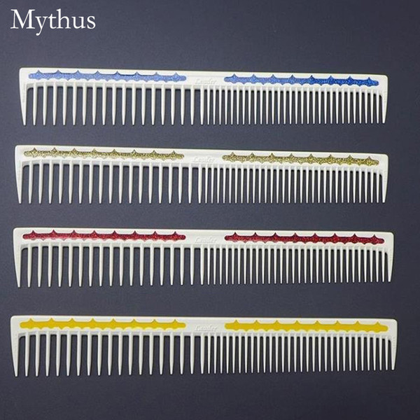 4 Colors Resin Hairdressing Comb Professional Japanese Hair Cut Comb Unbreakable Styling Hair Comb For Hairdressers L-04