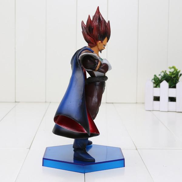 Figurine Dragon Ball Z Vegeta Père Le Roi Super Saiyan PVC Action Figure 20 cm