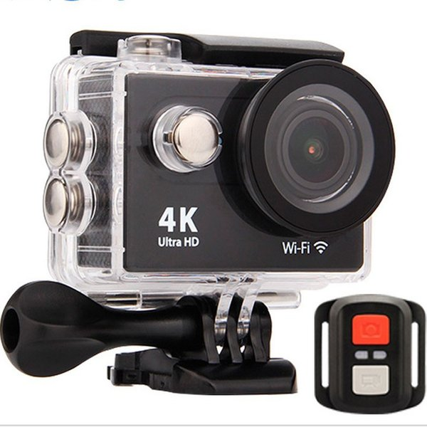 Hot selling H9R Waterproof Ultra HD 4K Video Action Camera 170 degrees Wide Angle Sports Camera 2-inch Screen 1080p 60fps