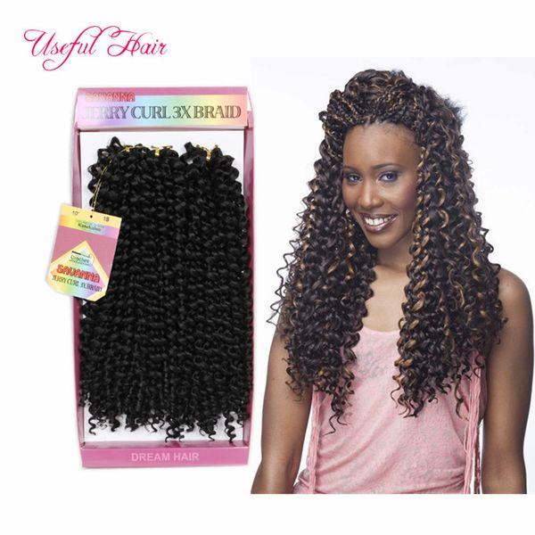 TBUG SAVANA MAMBO TWIST deep waVE crochet braids HAIR 3PCS/BUNDLES CROCHET hair extensionS Medium Auburn Strawberry Blond FEMAL SUITING