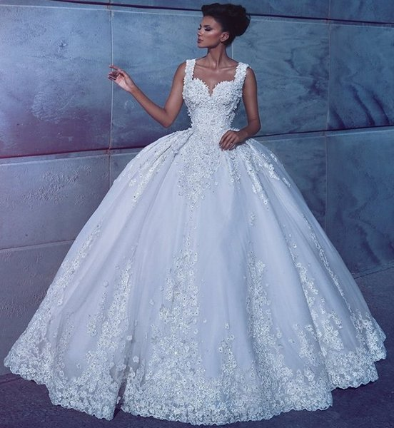 Vintage Ball Gown Wedding Dresses Bridal Gowns New Arrival