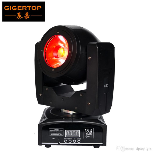 TIPTOP Mini 60W Led Moving Head Light O-R-S-A-M LED Lamp RGBW 4IN1 Color Beam Effect 4 Degree Angle Big Lens Good Beam Scanner TP-L6W9