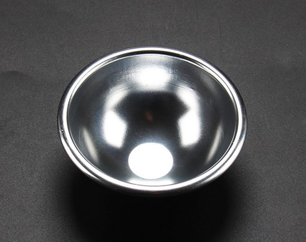 Hot Sale 8cmx3.5cm 60pcs/set 3D Aluminum Alloy Ball Sphere Bath Bomb Mold Cake Puddings Pan Tin Baking Pastry Mould