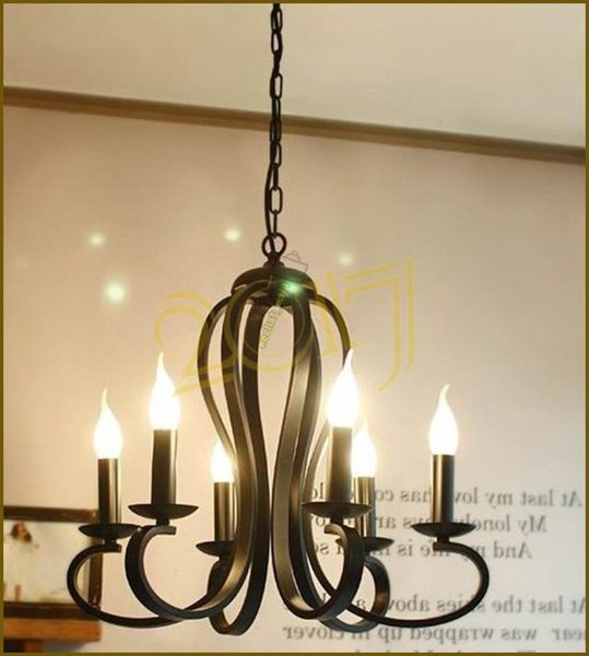 Simple elegant northern american country style modern metal pendant lamp chandelier black white color for dinning room living bedroom decor