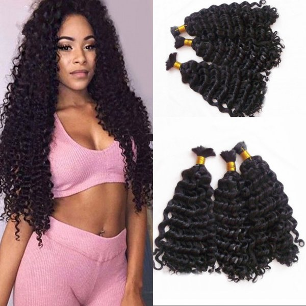 Навальные человеческие волосы для заплетения 3 пачки глубокой волны вьетнамский человеческих волос навалом нет утка FDSHINE