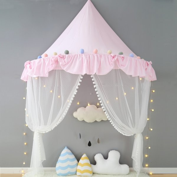 Tent for Kids Canopy Bed Curtains Cotton Play Tent House Kids Room Decoration Childrenu0027s Day Gifts & Tent for Kids Canopy Bed Curtains Cotton Play Tent House Kids Room ...