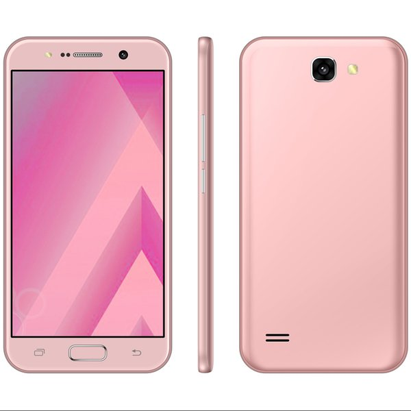 V1 Smartphone 5.5 Inch MTK 6580 Quadcore Mobliephone 1GB RAM 4GB ROM Dual Camera 5.0MP Back Camera Android Smartphone 2017 New Arrival