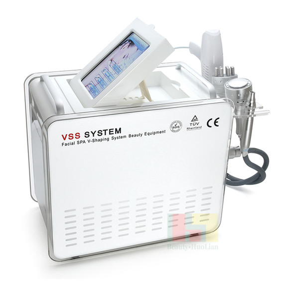 5 In 1 No Needle Mesotherapy Machine With Ice Cooling For Skin Tightening RF Derma Pen Needle Free Gun LED Facial Mask