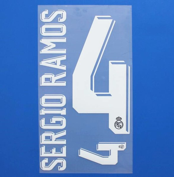 AWAY NAME 4 SERGIO RAMOS