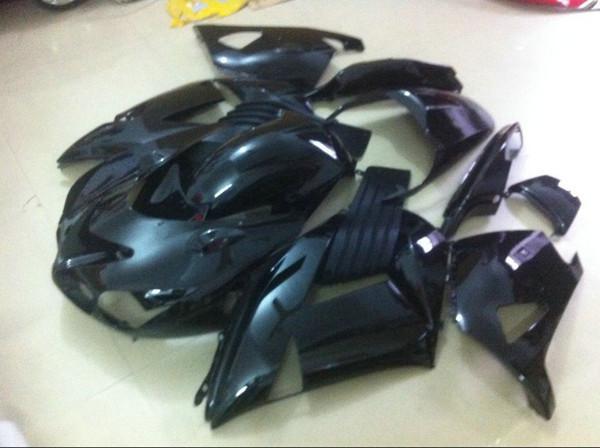 Kit de carénage sans injection 7 cadeaux pour Kawasaki Ninja ZX14R 06 07 08-11 kit de carénage noir ZX14R 2006-2011 OT13