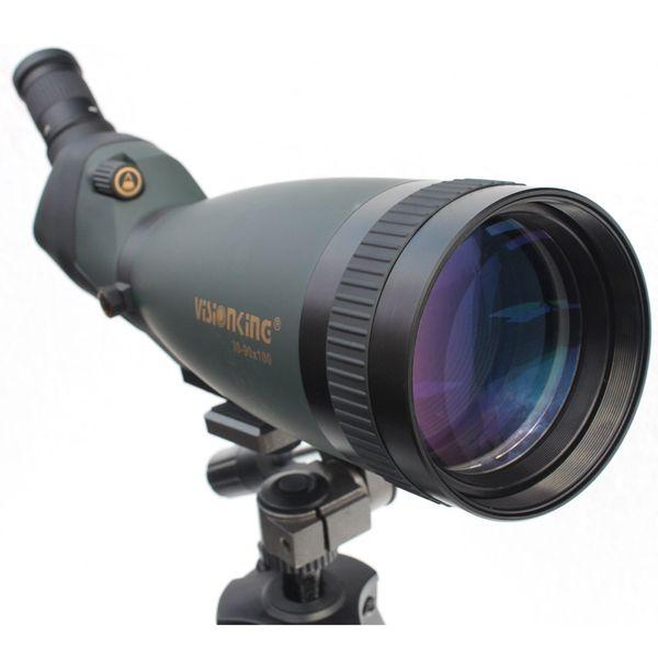 Visionking 30-90x100 Waterproof Spotting Scopes Green Fully Multi-Coated Spotting Scope Telescope BAK4 Spotting Scope Fogproof VS30-90X100
