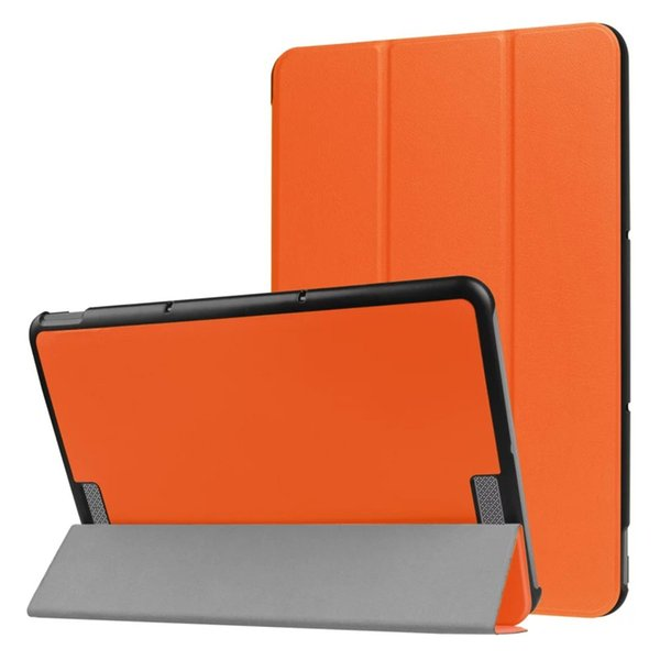 Ultra Slim Tri-Fold PU Leather Case Stand Cover for ASUS Transformer BOOK T101HA 10.1 inch Flip Cases with Stand 100pcs