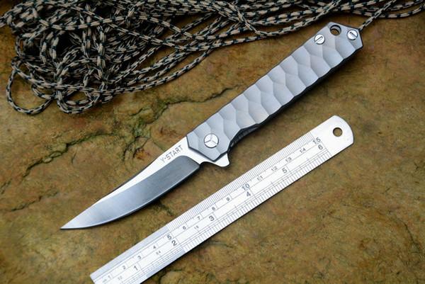 2017 mais recente versão vento (y-start) guerreiro faca dobrável de lavagem de pedra A161 A162 A163 camping faca de caça faca dobrável 1 pcs freeshipping