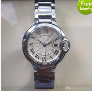 Hot marcaCouple amantes Assista mulheres mens relógios de Moda de Aço Inoxidável de Quartzo relógios de Pulso para Homens Senhoras melhor presente