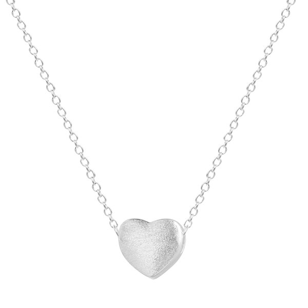 5pcs/lot Wholesale 925 Sterling Silver Jewelry Women Love Heart Necklaces & Pendants Gift for Girlfriend Collar Colar de Plata
