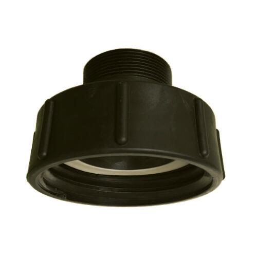 """best selling Heavy duty IBC accessories 3"""" S100X8 butress female to 2"""" NPT male adaptor garden hose free shipping"""