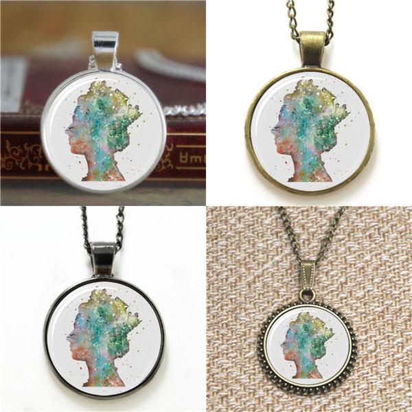 10pcs Queen's head Print Art Print Glass Photo Necklace keyring bookmark cufflink earring bracelet