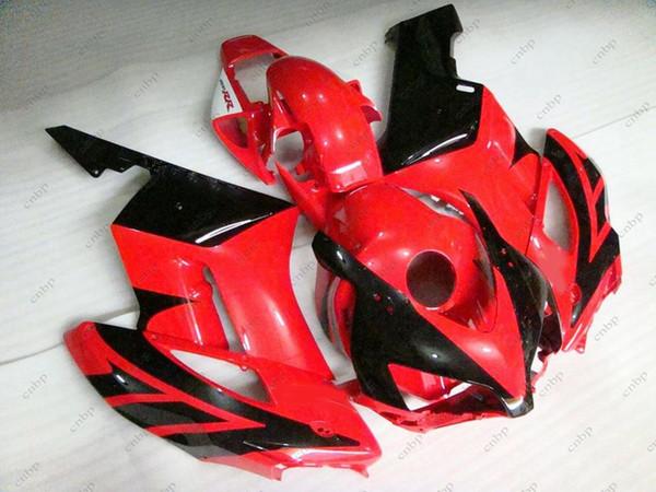 Plastic Fairings Fireblade 05 Body Kits CBR1000RR 2005 Red Black Fairing Kits for Honda Cbr1000 RR 04 2004 - 2005