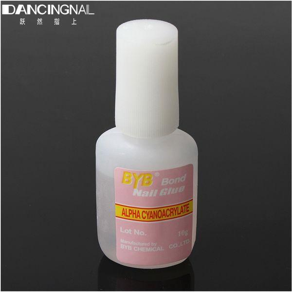 Wholesale 10g Nail Art Glue Tip Uv Gel Rhinestones Decoration For