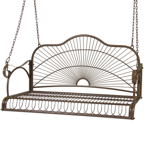 Excellent 2019 Iron Patio Hanging Porch Swing Chair Bench Seat Outdoor Furniture From Newlife2016Dh 101 36 Dhgate Com Alphanode Cool Chair Designs And Ideas Alphanodeonline