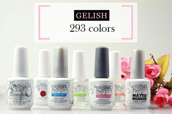 Soak Off Nail Gel Polish For Nail Art Gel Lacquer Led Uv Harmony Gelish Base Coat Foundation Top Coat Gel Nail Polish Brands Gel Nail Removal From