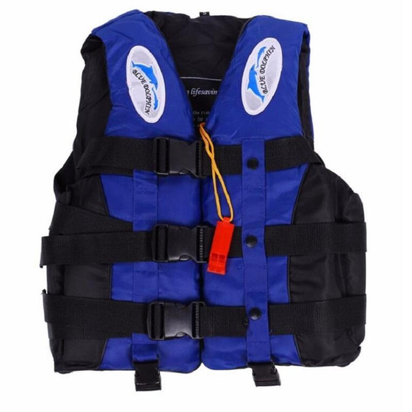 best selling 6 Sizes Professional Life Jacket Swimwear Polyester Life Vest For Water Sports Swimming Drifting Surfing Free Shipping