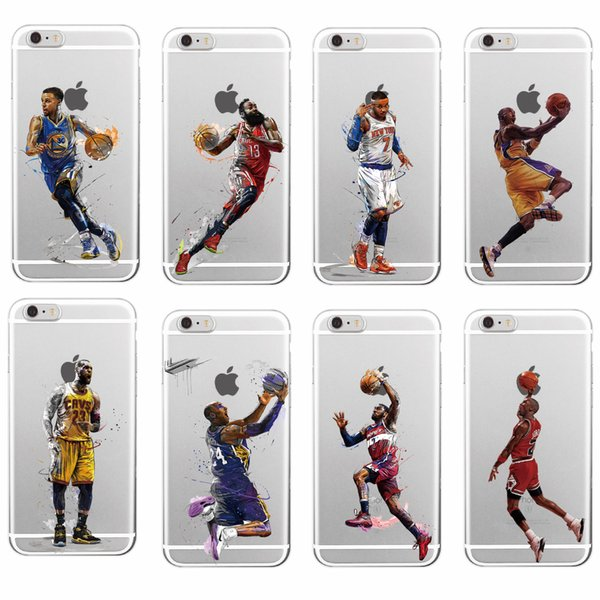 100% authentic e5a61 a2ee1 Sports Stars Kobe Bryant Soft TPU Phone Case For IPhone 7plus 8 8Plus X XR  Xs Max SAMSUNG Cases For Cell Phones Cell Phone Carrying Case From Andycj,  ...