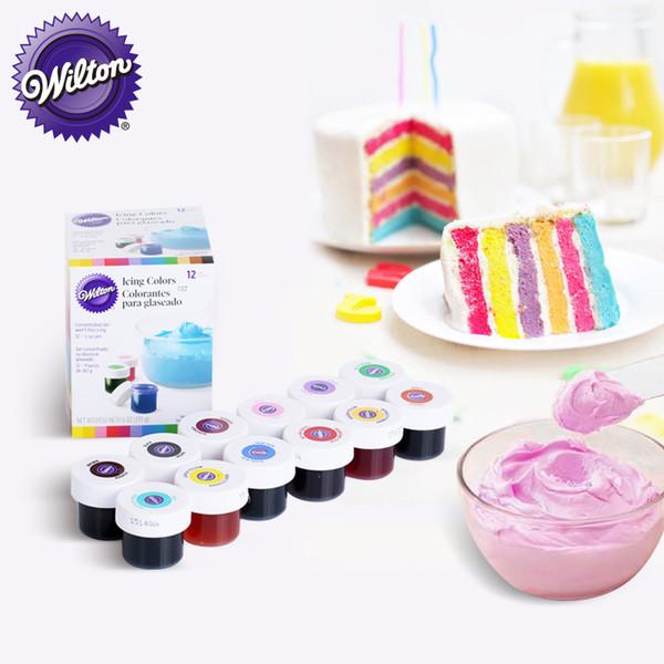 2019 America Wilton Double Sugar Cake Pigment Color Paste Food Baking  Wilton Pigment From Tanzhilian, $36.18 | DHgate.Com