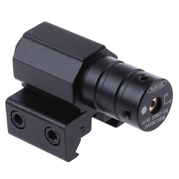 Rail Red Dot Laser Gamme Tactique Red Dot Laser Sight Scope Tactical Refile Scopes 50-100 Mètres Pour Rifle Pistol Weaver Mount + B
