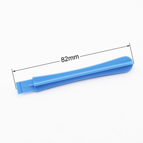 Factory Wholesale 82mm ligth Blue Plastic Spudger Pry Tool Crowbar Opening Tools for iPhone Electronic Products DIY Fix 1000pcs/lot