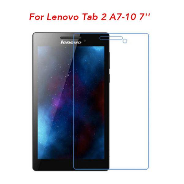"A10-70 10/"" tablet gard Tempered Glass Screen Protector for Lenovo Tab 2 A10-30"