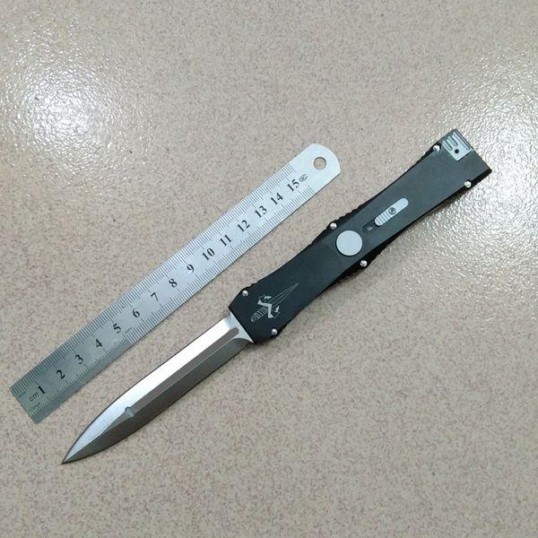 Sıcak edc Mikro Mar Özel Nemesis tek bıçaklar D / E bıçak kolu Saten bıçak 1 adet