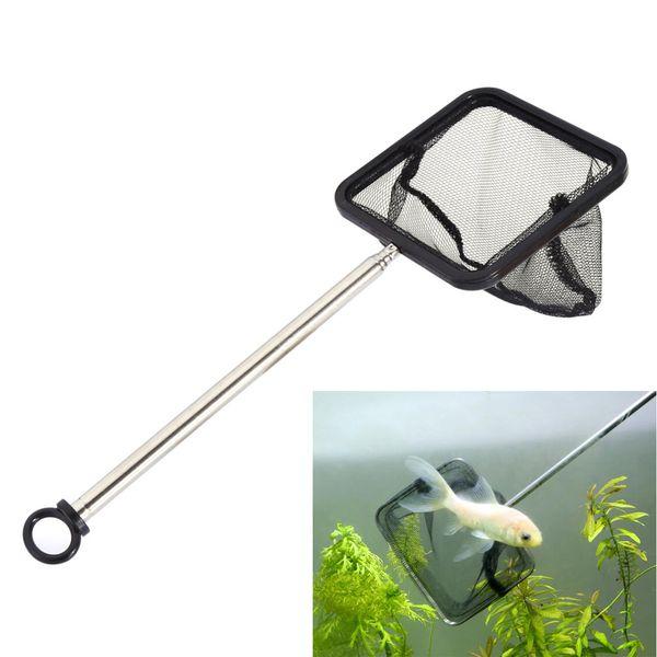 Aquarium Net Extensible Crevettes Petit Betta Tetra Fish Tank Net Carré Nouvelle Arrivée Livraison gratuite