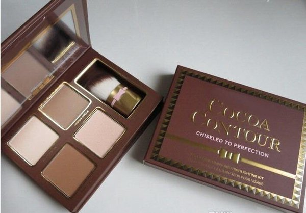 lowest price / HOT new makeup Cocoa Contour Chiseled to Perfection Face Contouring& Highlighting Kit DHL Free shipping