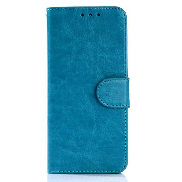 10pcs/lot free shipping Crazy Horse Wallet PU Leather+TPU Case For Samsung S8/S8 PLUS/S7/S7 EDGE/S6/S6 EDGE With Frame