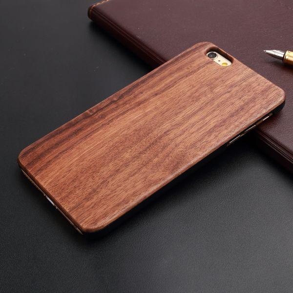 Custom Design Wooden Phone Case DIY Laser Engraved Logo Photo Wood+PC Personalised Phone Case for IPhone 5 5s 6 6plus 7 7 plus