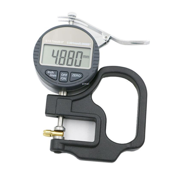 top popular Freeshipping 0.001mm Electronic Thickness Gauge 10mm Digital Micrometer Thickness Meter Micrometro Thickness Tester With RS232 Data Output 2020