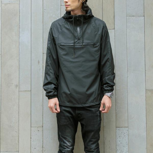 Autunno nuovo hip-hop bomber giacca con cappuccio uomo streetwear mens giacche e cappotti overocat giacca a vento di marca-abbigliamento spedizione gratuita