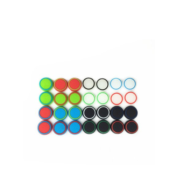 top popular wholesale caps Rubber Silicone Joystick Thumb Stick Joystick Grip Caps For PS4 PS3 Xbox one 360 Controller 2019