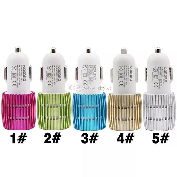 car charger 2-mix colour