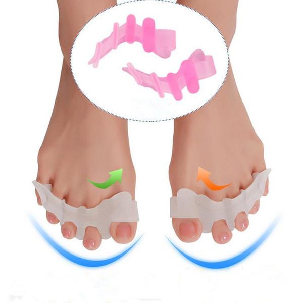 Silikon Bunion Corrector nsole Fashion Toe Verbreitung Orthesen Einlegesohle Kissen Fußpflege Werkzeug Gel Hallux Valgus F20171199