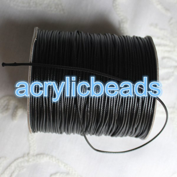 1.5mm 165M/roll Korea Wax Cord Shamballa Nylon Cord Round Thread Polyester Wire String Jewelry Making