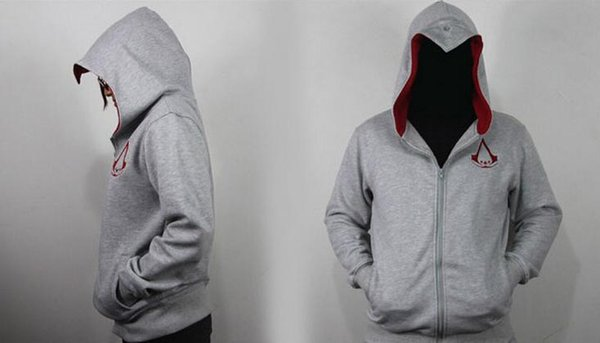 New assassins creed cotton-padded clothes men's and men's clothing of wool fleece hot style autumn/winter sportswear jackets for foreign tra