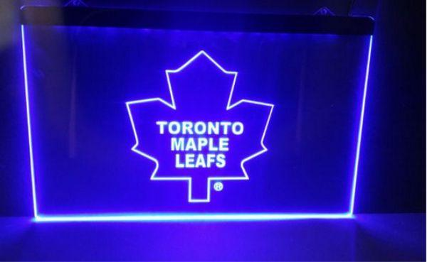 B-171 Toronto Maple Leafs beer bar 3d signs culb pub led neon light sign home decor crafts